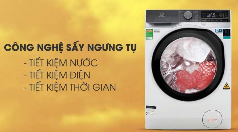 Chức năng sấy 7kg - Máy giặt sấy Electrolux Inverter 10 kg EWW1042AEWA