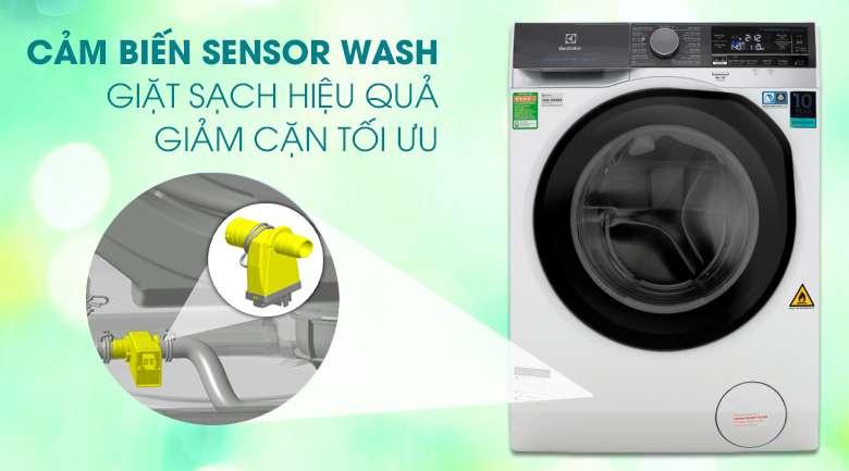 Công nghệ cảm biến Sensor Wash - Máy giặt sấy Electrolux Inverter 10 kg EWW1042AEWA