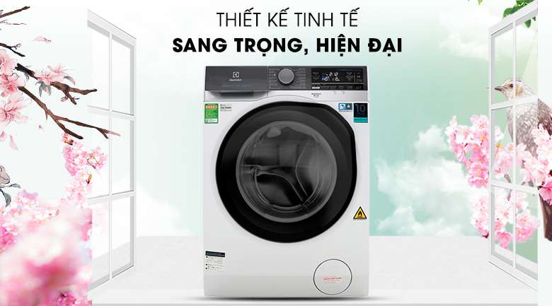 Thiết kế sang trọng - Máy giặt sấy Electrolux Inverter 11 kg EWW1141AEWA