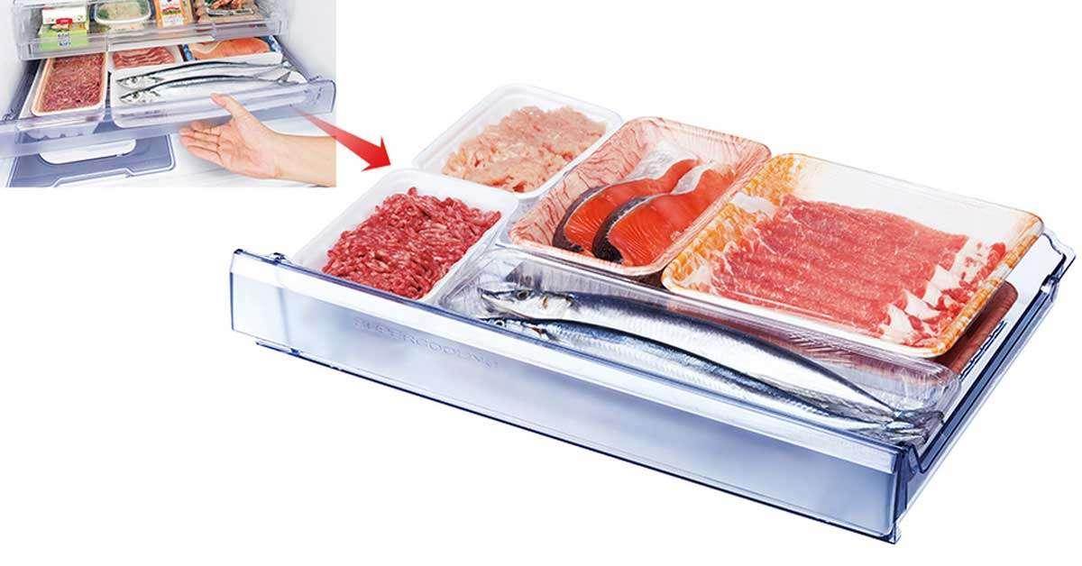 Tủ Lạnh 358 Lít Mitsubishi MR-CGX46EN-GBK-V
