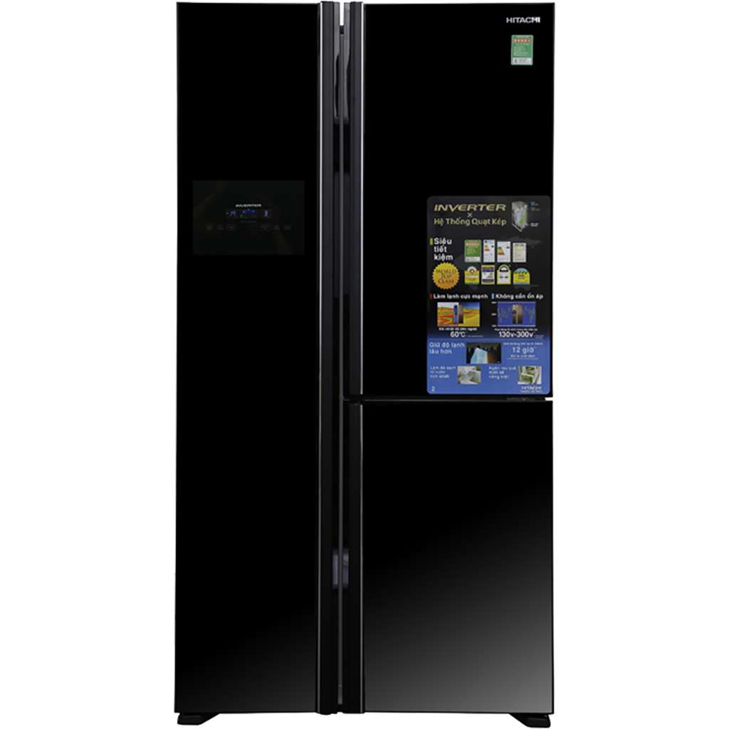 Tu Lanh Hitachi 600 Lit R Fm800pgv2 Gbk