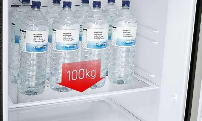 Tủ lạnh Mitsubishi Electric 376 lít MR-FX47EN-GSL-V (2 cửa) khay đựng linh hoạt