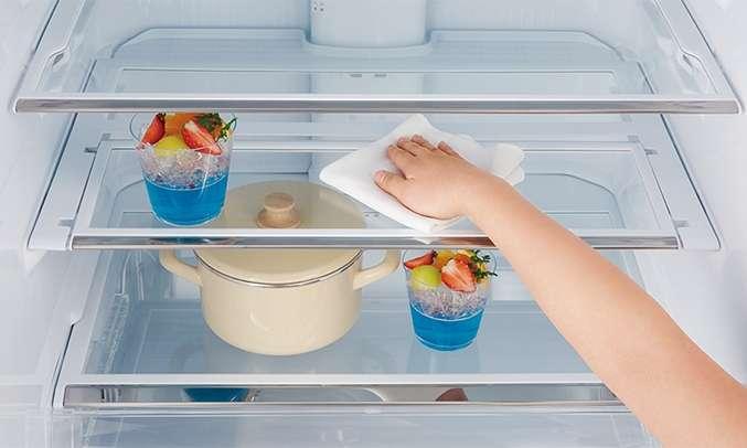 Tủ lạnh Mitsubishi Electric 580 lít MR-L72EN-GSL-V (4 cửa) khay đựng linh hoạt