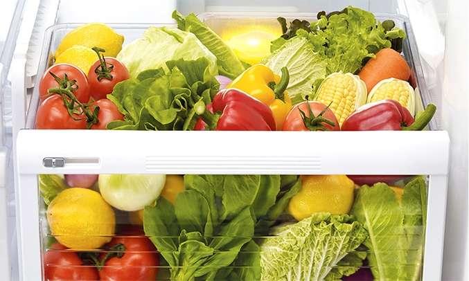 Tủ lạnh Mitsubishi Electric 635 lít MR-L78EN-GSL-V (4 cửa) ngăn rau quả lớn