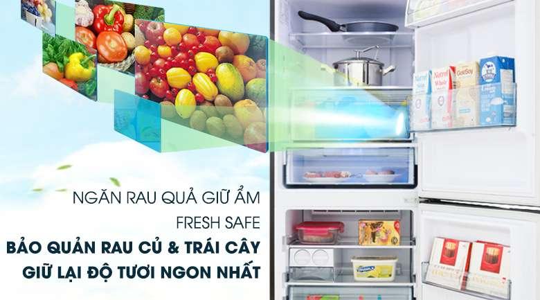 Ngăn rau quả giữ ẩm Fresh Safe