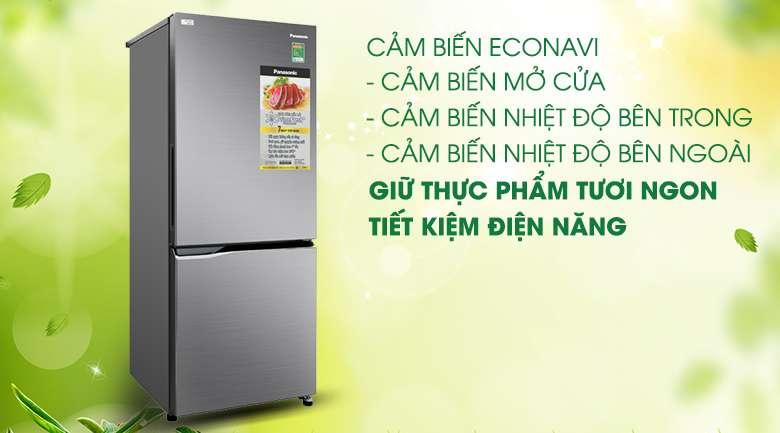Cảm biến Econavi - Tủ lạnh Panasonic Inverter 255 lít NR-BV280QSVN