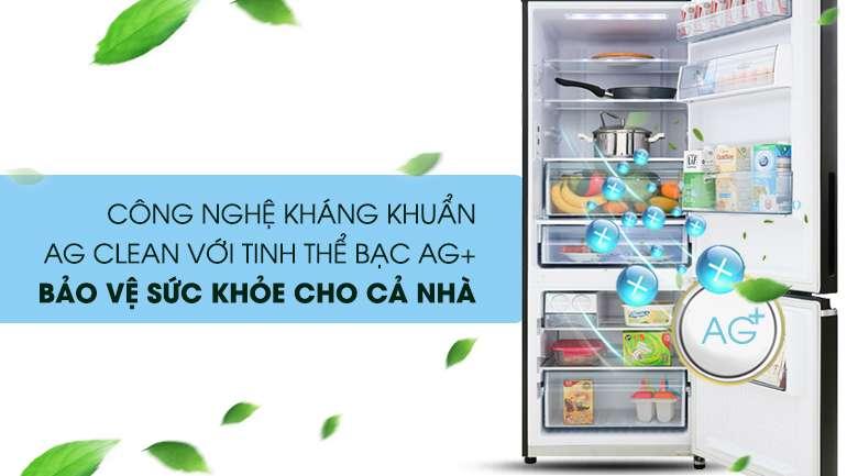 Công nghệ Ag Clean với tinh thể bạc Ag+ - Tủ lạnh Panasonic Inverter 290 lít NR-BV320GKVN