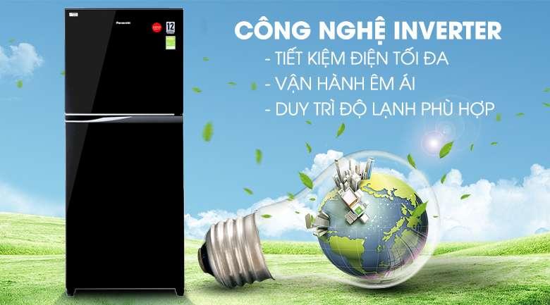 Công nghệ Inverter - Tủ lạnh Panasonic Inverter 363 lít NR-BD418GKVN