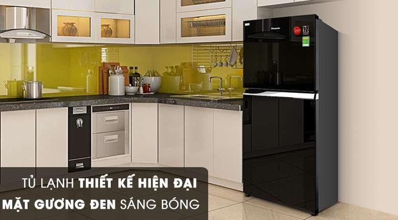 Thiết kế - Tủ lạnh Panasonic Inverter 363 lít NR-BD418GKVN