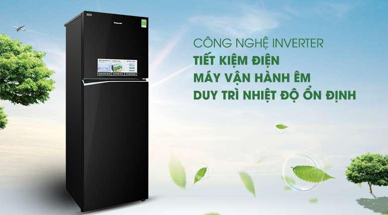 Công nghệ Inverter - Tủ lạnh Panasonic Inverter 366 lít NR-BL381GKVN