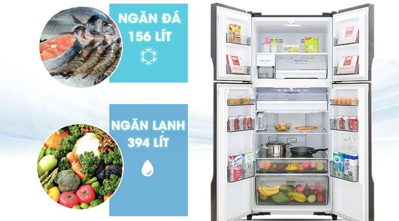 Tủ lạnh Panasonic 550 lít - Tủ lạnh Panasonic Inverter 550 lít NR-DZ600GXVN