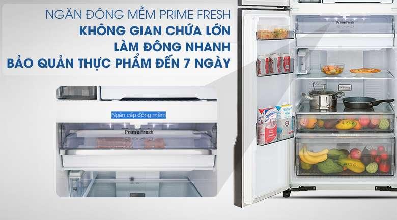Công nghệ kháng khuẩn Ag Clean với tinh thể bạc Ag+ - Tủ lạnh Panasonic Inverter 550 lít NR-DZ600GXVN