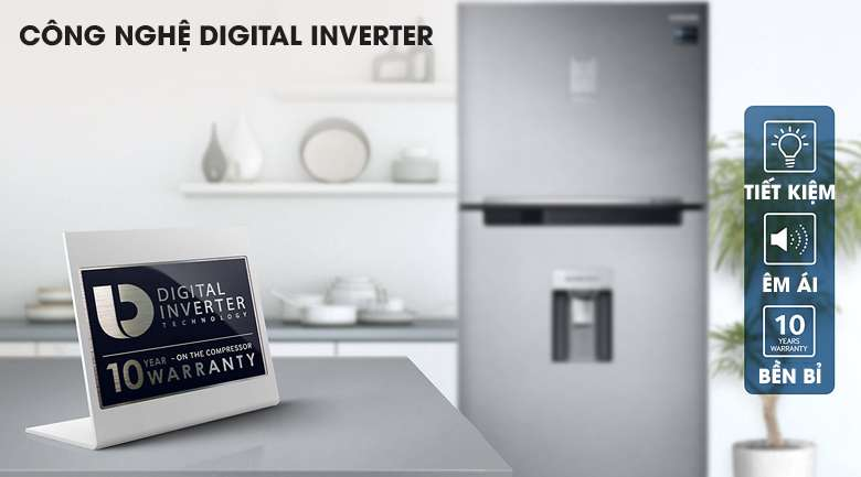 Digital Inverter - Tủ lạnh Samsung Inverter 442 lít RT43K6631SL/SV