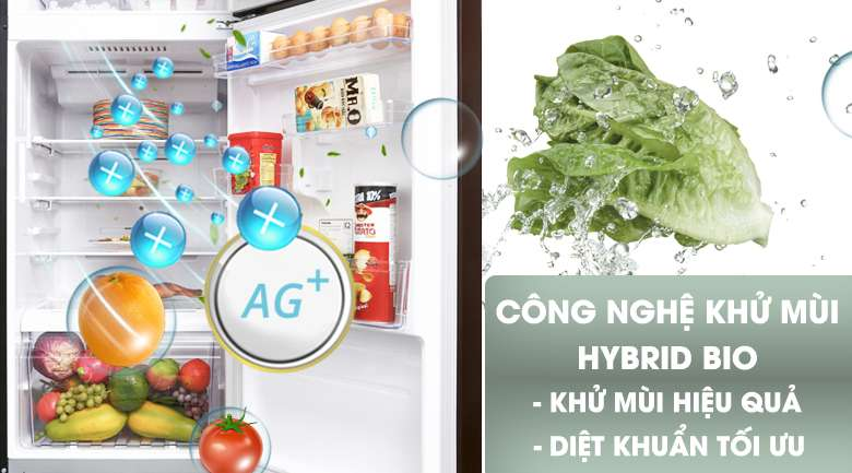 Công nghệ kháng khuẩn, khử mùi Hybrid Bio -