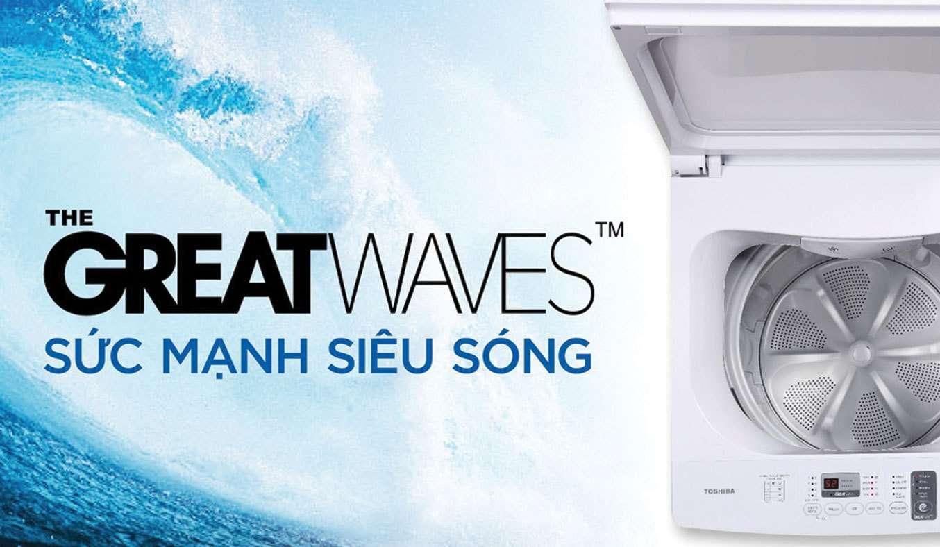 Máy giặt Toshiba 8 kg AW-J900DV (WW)