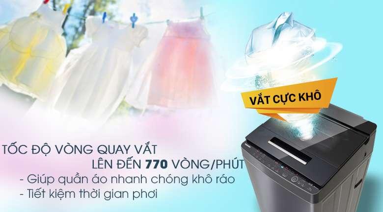 Vắt cực khô - Máy giặt Toshiba Inverter 10 kg AW-DUH1100GV