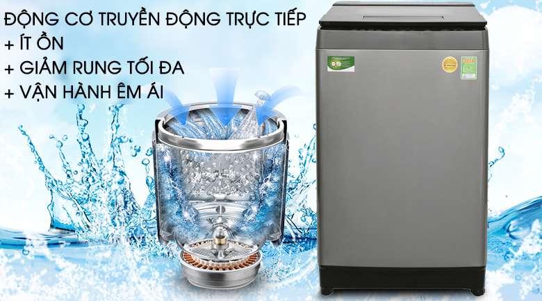 Động cơ truyền động trực tiếp - Máy giặt Toshiba Inverter 11 kg AW-DUH1200GV