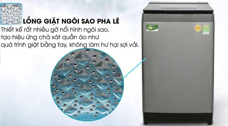 Lồng giặt ngôi sáo pha lê - Máy giặt Toshiba Inverter 11 kg AW-DUH1200GV