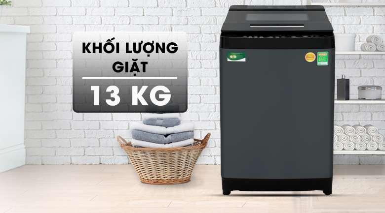 Máy giặt Toshiba Inverter 13 kg AW-DUJ1400GV KK - Khối lượng giặt 13 kg, phù hợp gia đình trên 6 thành viên