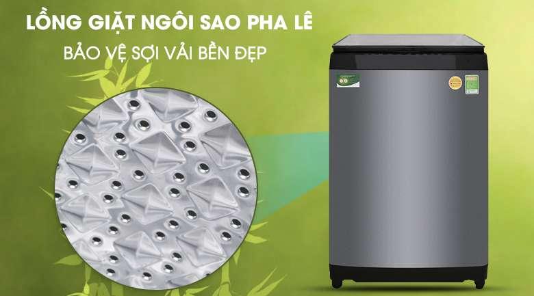 Lồng giặt ngôi sao pha lê - Máy giặt Toshiba Inverter 14 kg AW-DUG1500WV KK