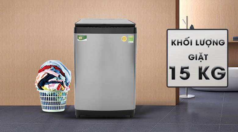 Khối lượng giặt 15 kg - Máy giặt Toshiba Inverter 15 kg AW-DUG1600WV SK