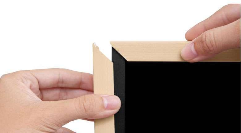 Smart Tivi Khung Tranh QLED Samsung 4K 55 inch QA55LS03R tặng kèm viền gỗ xoài