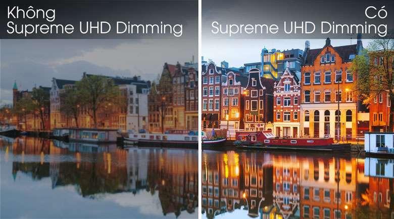 Công nghệ Supreme UHD Dimming - Smart Tivi Khung Tranh QLED Samsung 4K 55 inch QA55LS03R