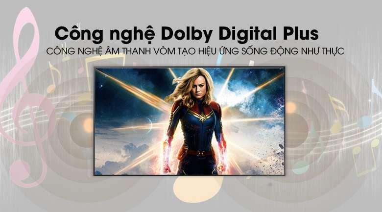 Công nghệ Dolby Digital Plus - Smart Tivi Khung Tranh QLED Samsung 4K 55 inch QA55LS03R