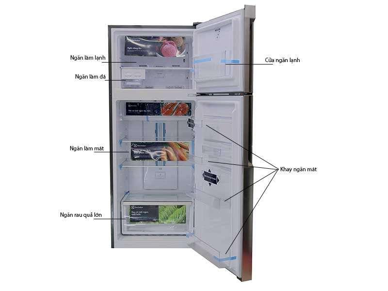 Tủ Lạnh Inverter Electrolux ETB5400BH - 536 Lít