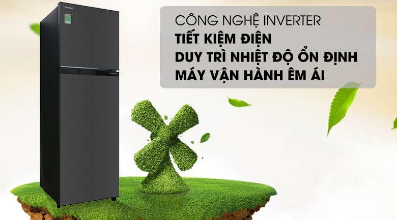 Công nghệ Inverter - Tủ lạnh Toshiba Inverter 253 lít GR-B31VU SK