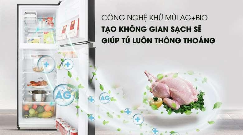 Công nghệ Ag+ Bio - Tủ lạnh Toshiba Inverter 253 lít GR-B31VU SK