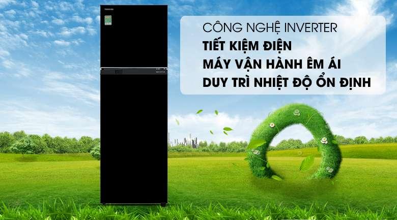 Công nghệ Inverter - Tủ lạnh Toshiba Inverter 253 lít GR-B31VU UKG