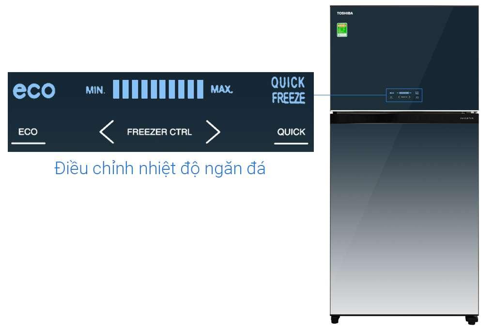 Tu Lanh Toshiba Inverter 555 Lit Gr Ag58va Gg
