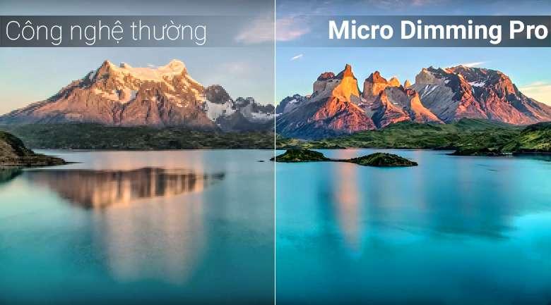 Công nghệ Micro Dimming Pro trên Android Tivi QLED TCL 55 inch L55X4
