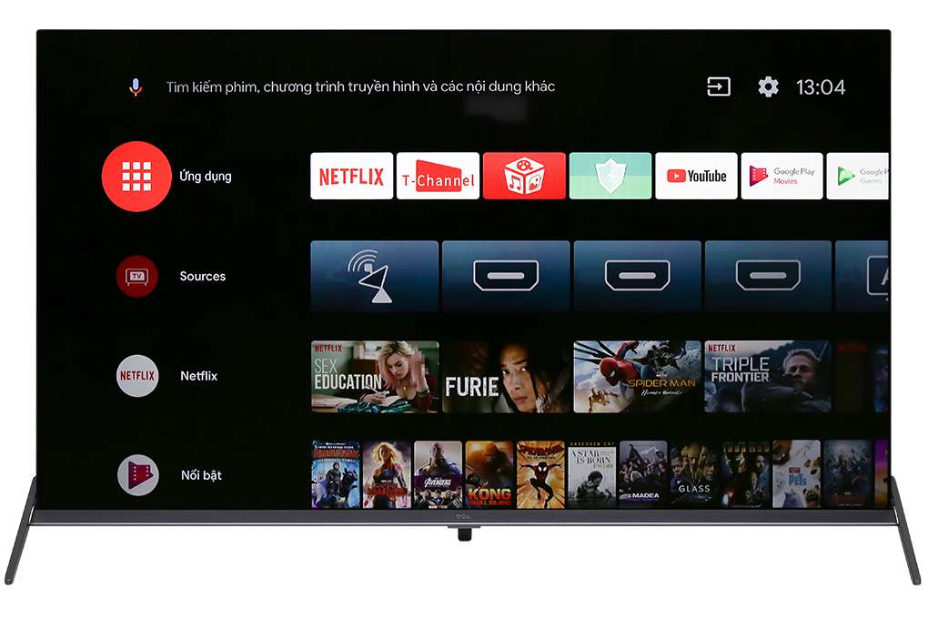 Android Tivi Tcl 4k 55 Inch 55p8s