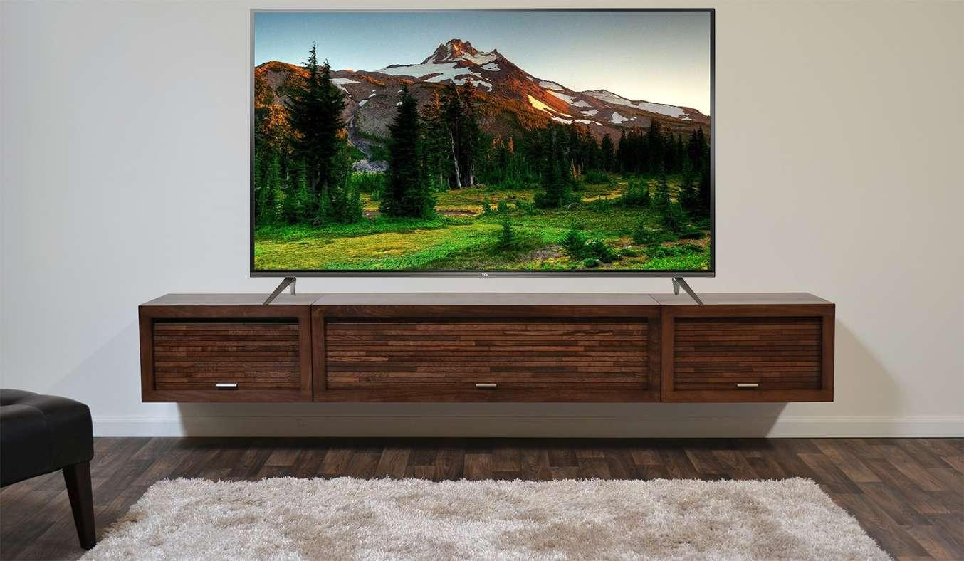 Tivi TCL LED L43P8 có thiết kế thanh mảnh