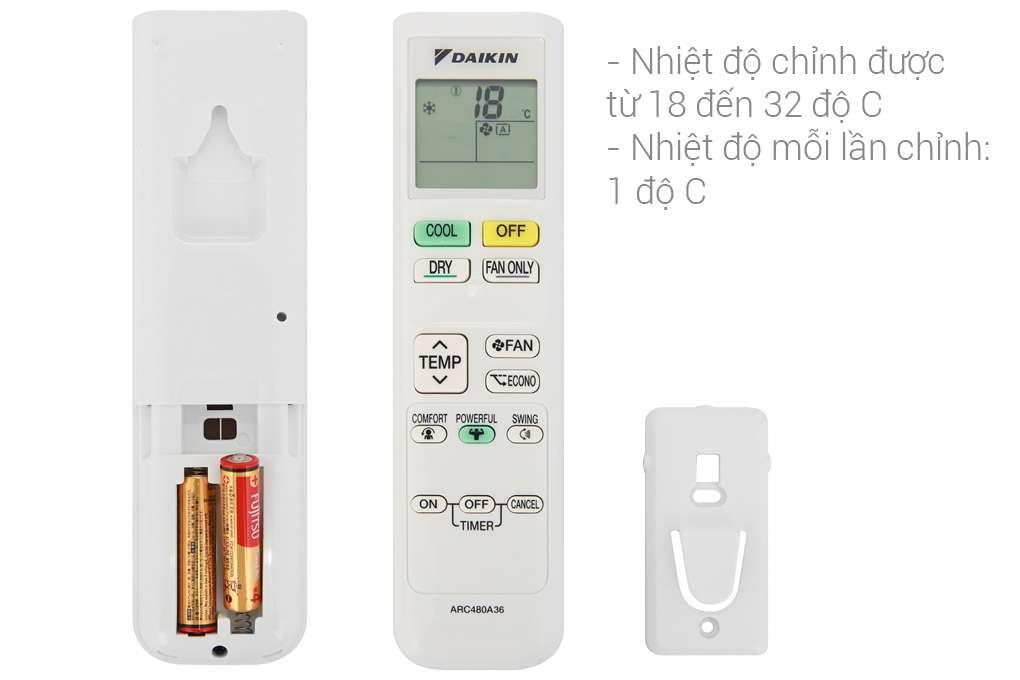 May Lanh Daikin Inverter 1 Hp Atkq25tavmv