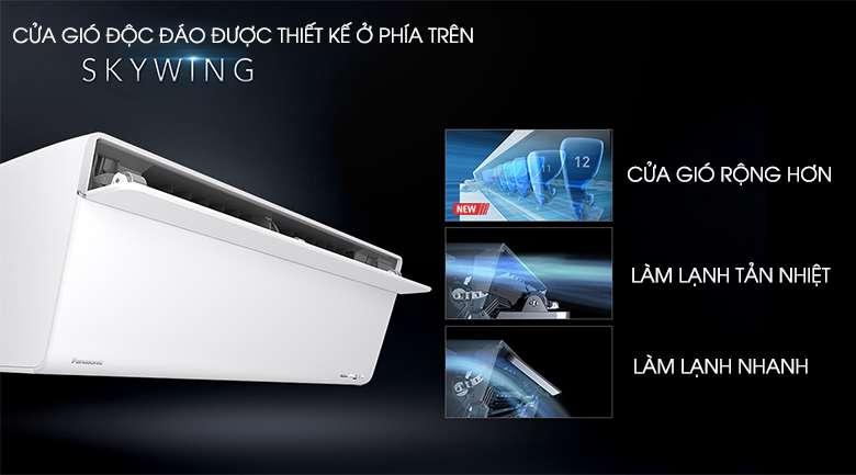 Thiết kế máy lạnh Panasonic Inverter 1 HP CU/CS-VU9UKH-8
