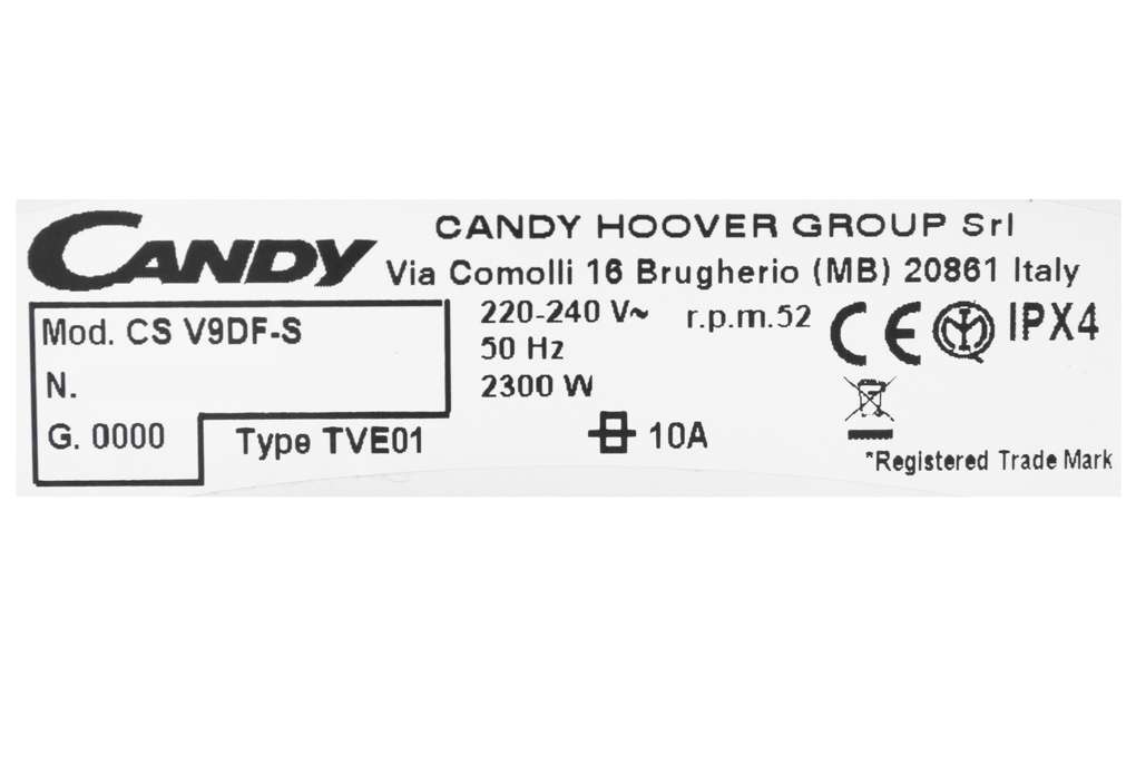 May Say Candy 9 Kg Cs V9df S