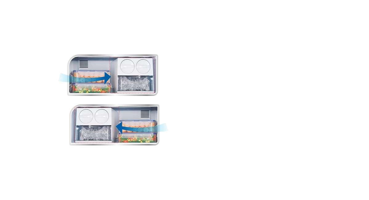 Tu Lanh Panasonic Inverter 322 Lit Nr Bc360wkvn