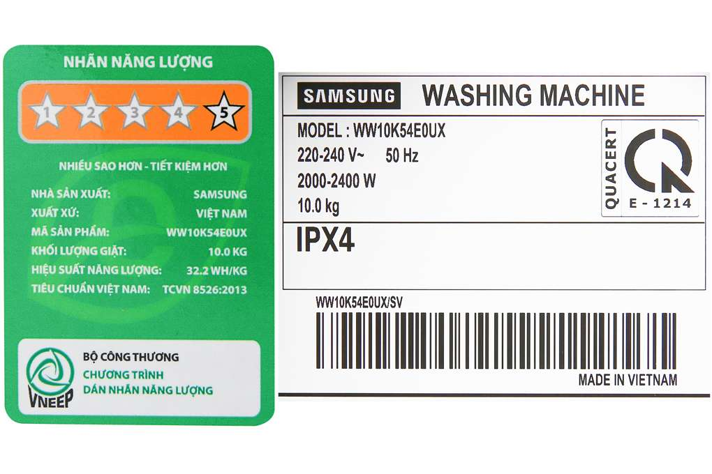 May Giat Samsung Ww10k54e0ux Sv 10 Org