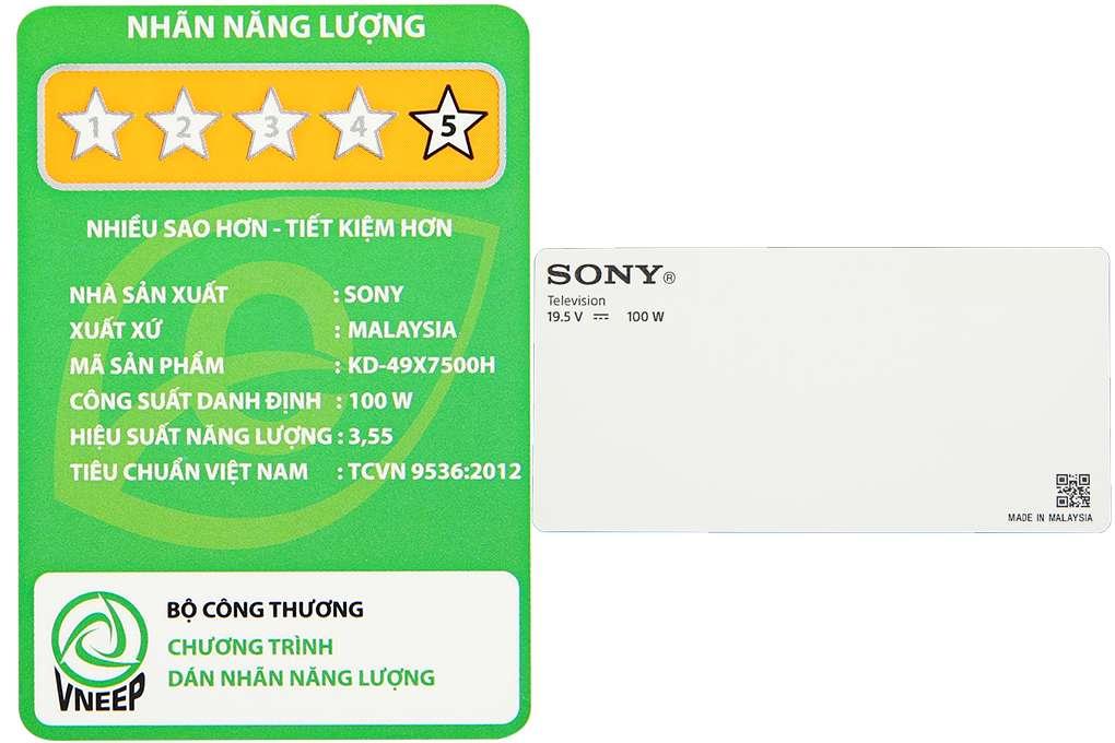 Sony Kd 49x7500h 10 Org
