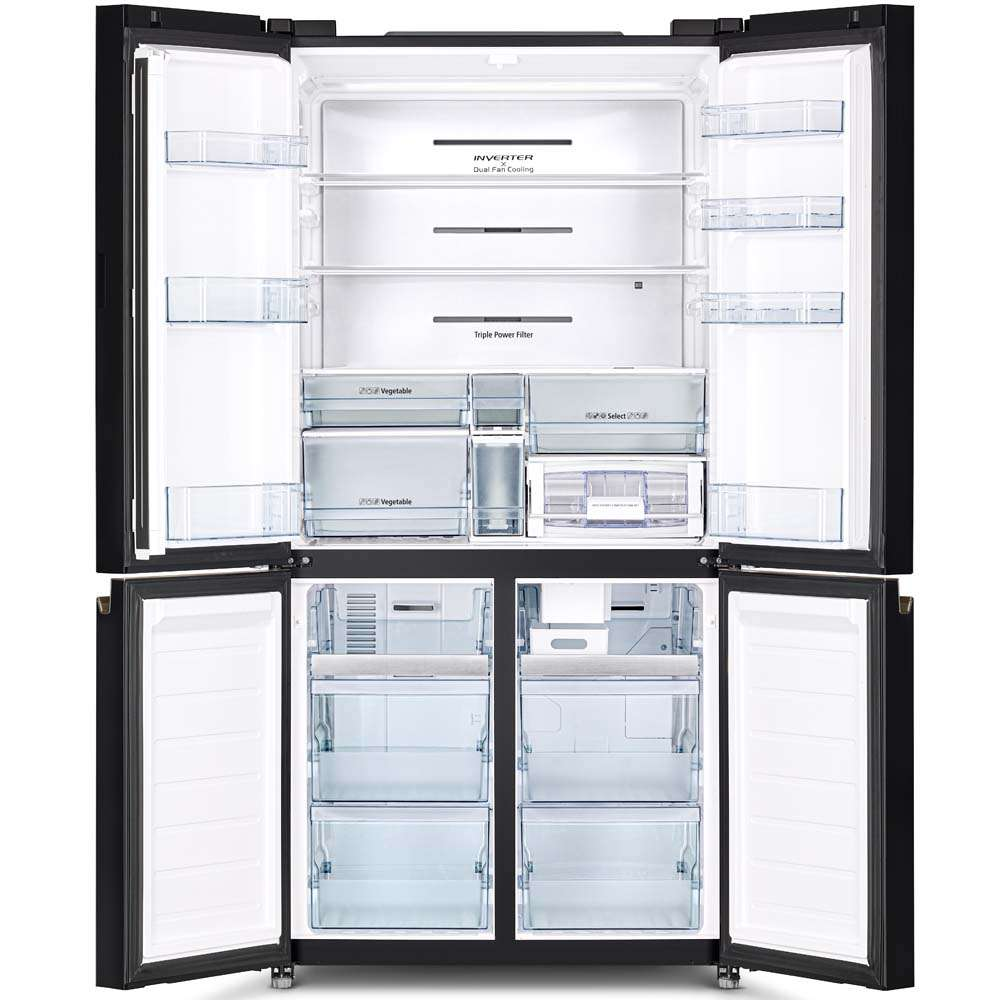 French Bottom Freezer 4door Deluxe 08