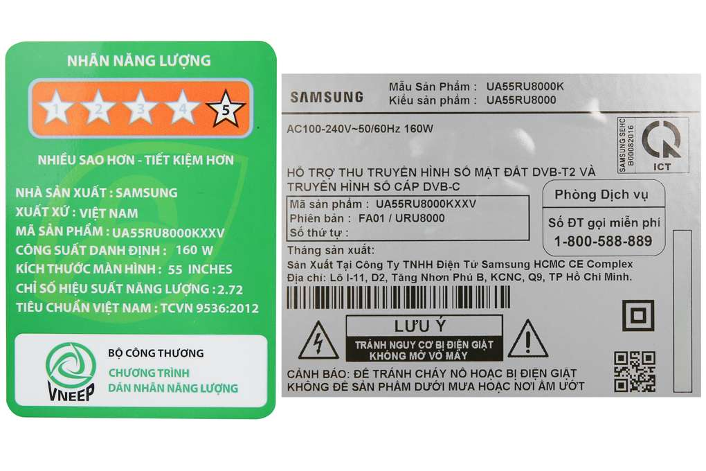 Tivi Samsung Ua55ru8000 8 Org
