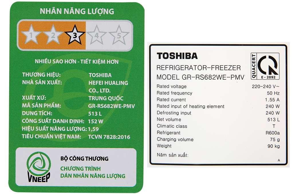 Toshiba Gr Rs682we Pmv 06 Mg 15 Org