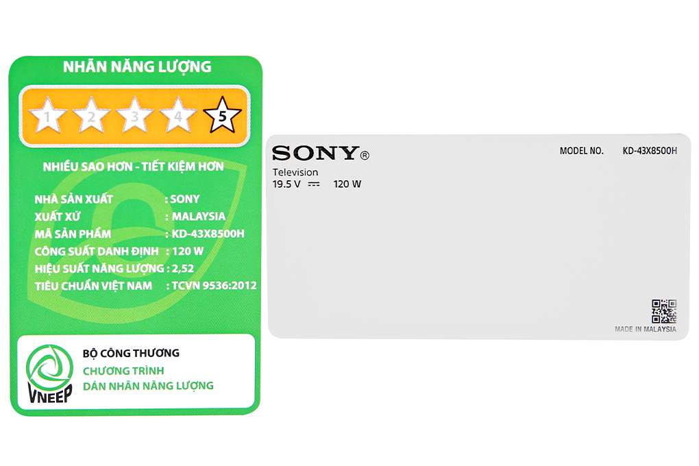 Sony Kd 43x8500h S 9 Org