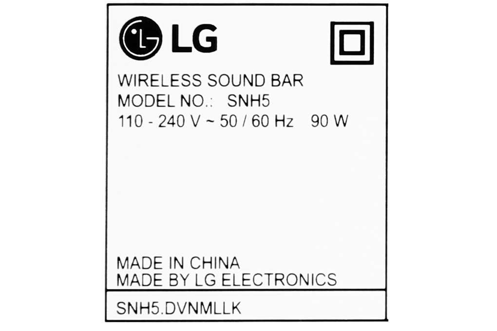 Lg Snh5 15 Org