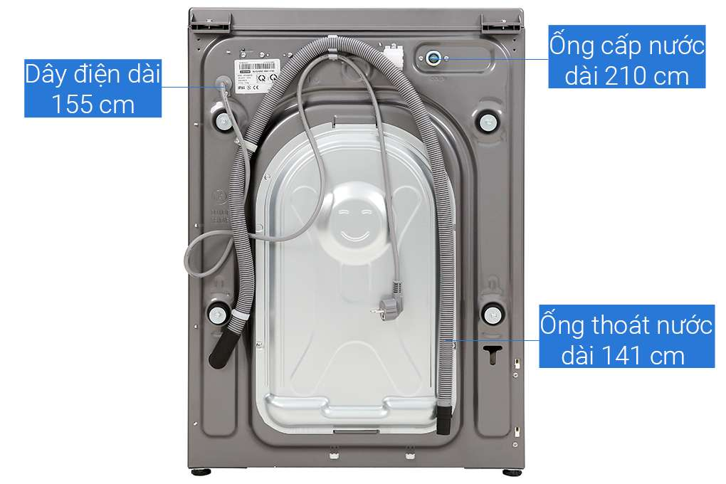 May Giat Say Samsung 10kg Wd10n64fr2x Sv 9 Org