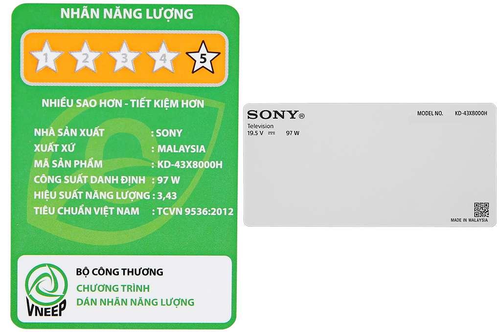 Sony Kd 43x8000h 9 Org