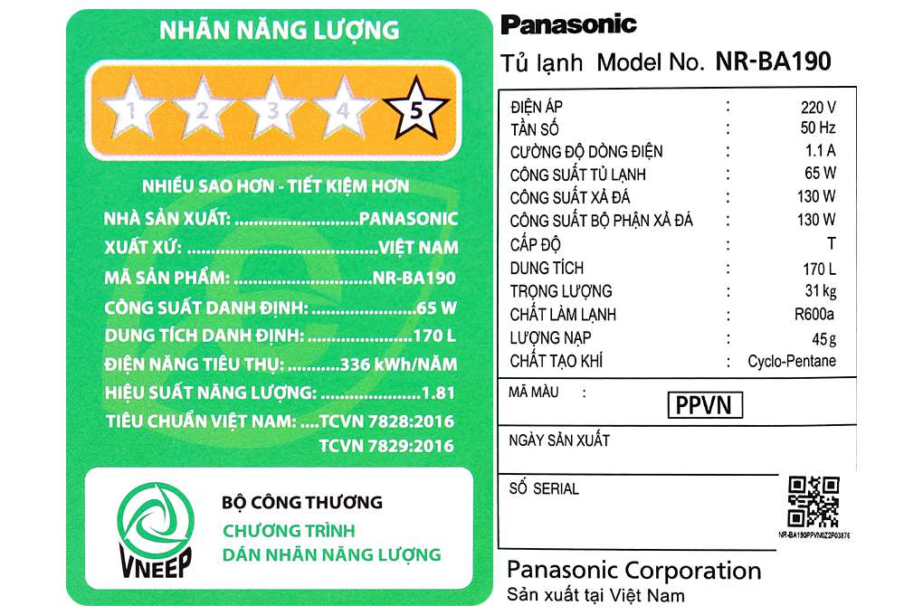Panasonic Nr Ba190ppvn 11 Org